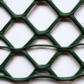 Hexamas Yeşil 1MT X 25MT 20X20MM UV Filtreli Yüksek Dayanıklı Plastik Çevirme Çiti (HDPE)