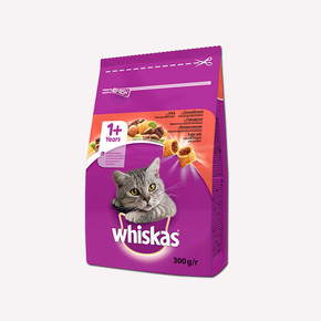 Whiskas Biftek ve Havuçlu Kuru Kedi Maması 300 Gr