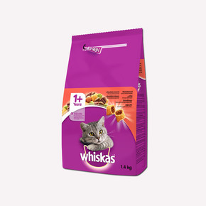 Whiskas Biftekli Kuru Kedi Maması 1.4 kg