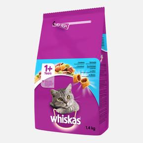 Whiskas Ton Balıklı Sebzeli Kuru Kedi Maması 1.4 kg