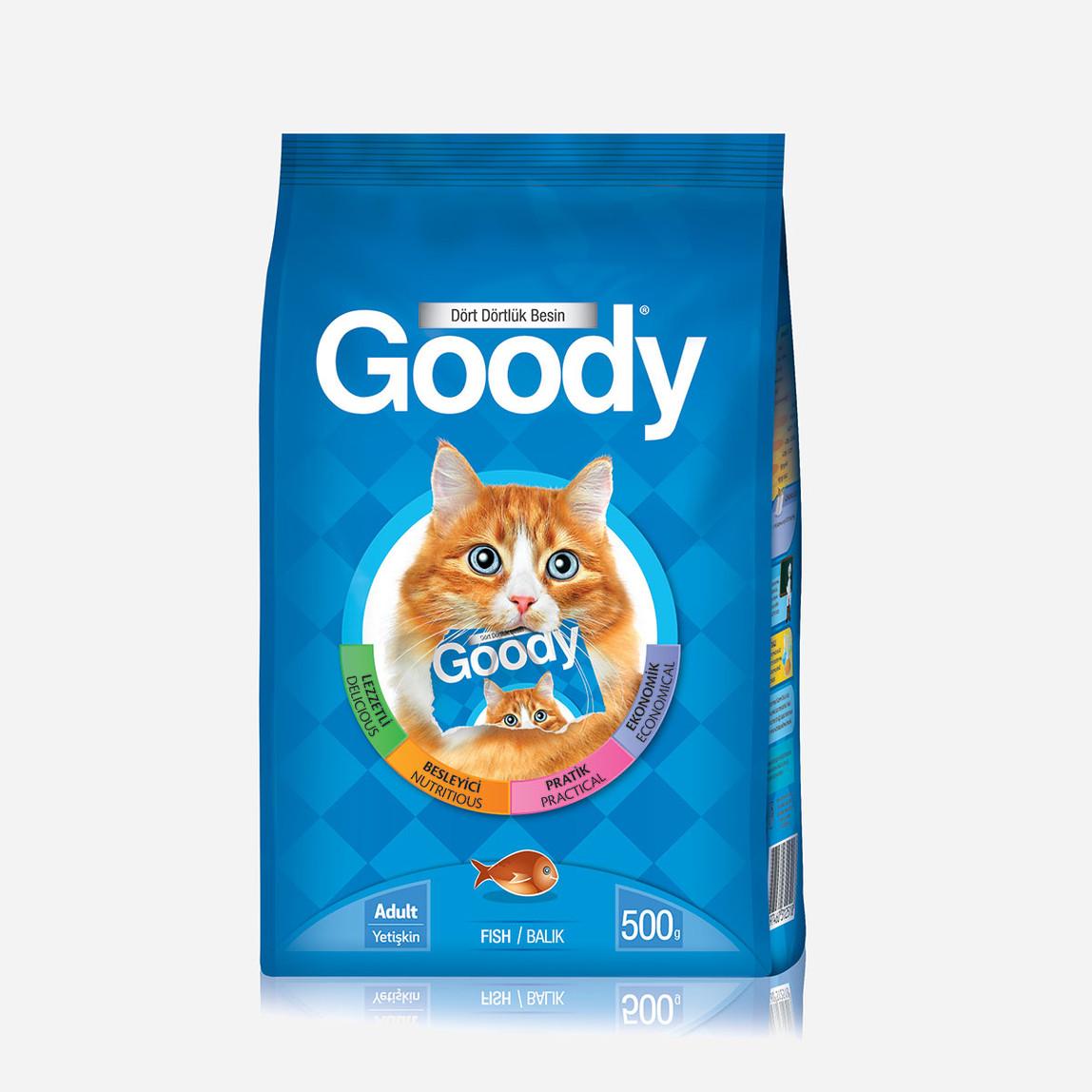500 Gr Balıklı Kedi Maması