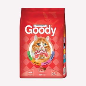 Goody Etli Yetişkin Kedi Maması 2.5 kg