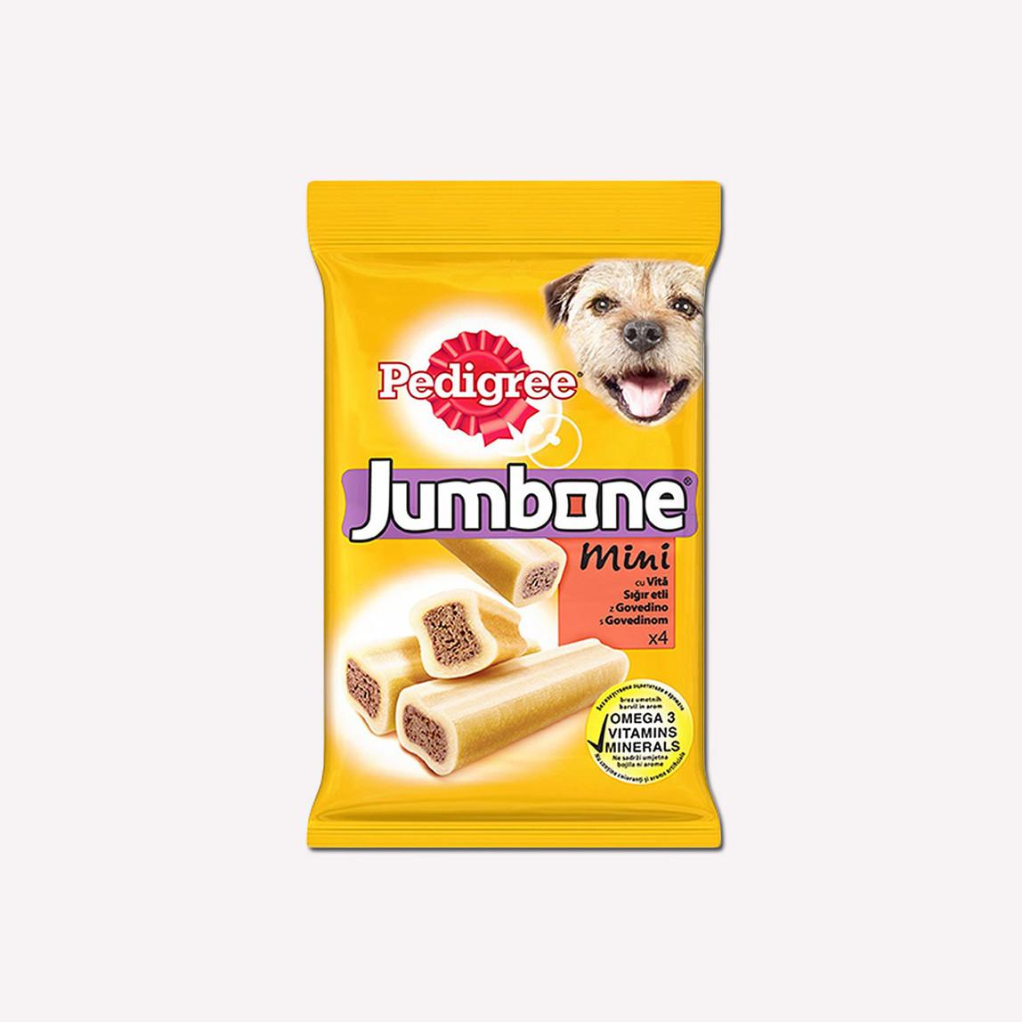 Pedigree Jumbone Mini Sığır Etli Köpek Ödül Maması 180 gr