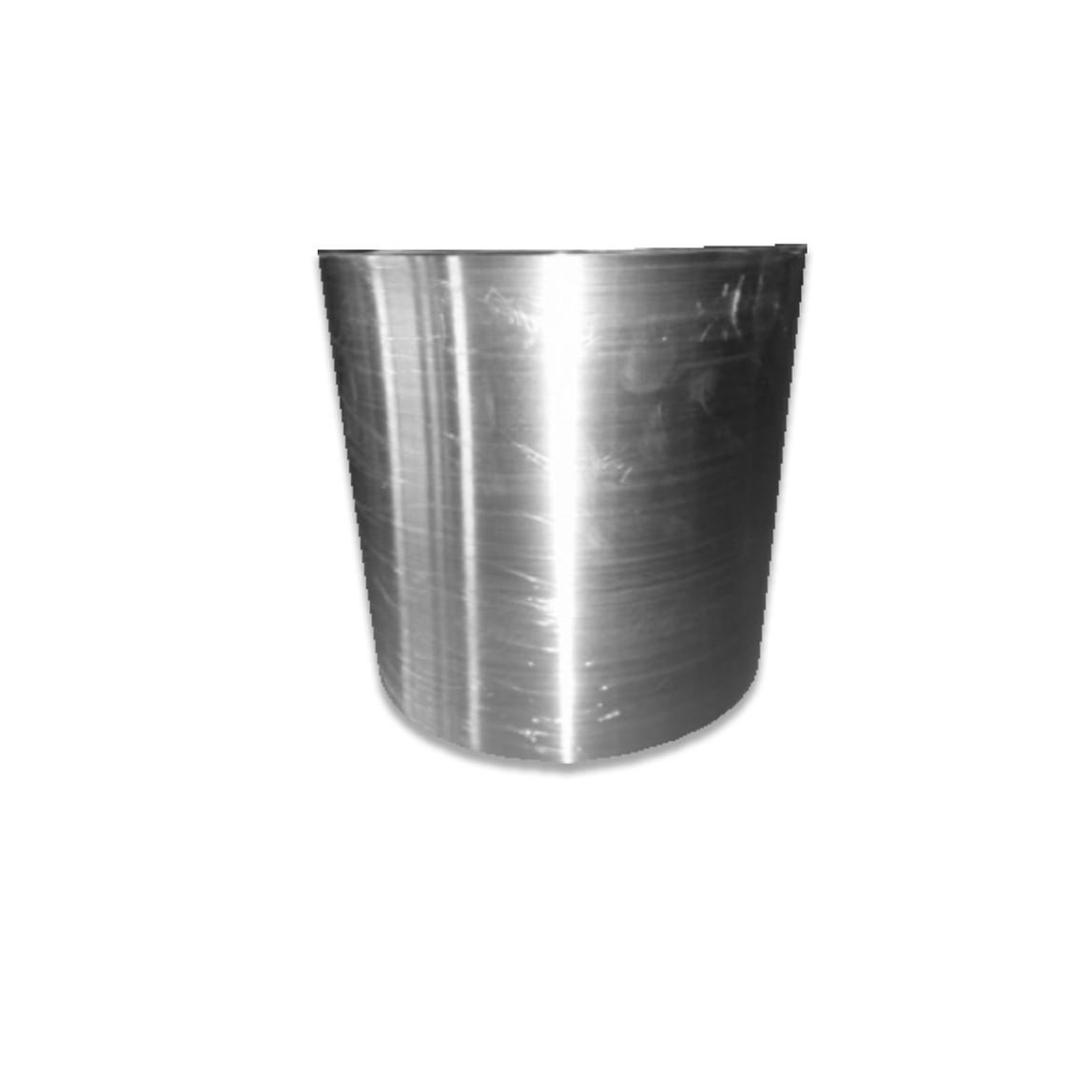 Metal Saksı Gümüş 30 cm