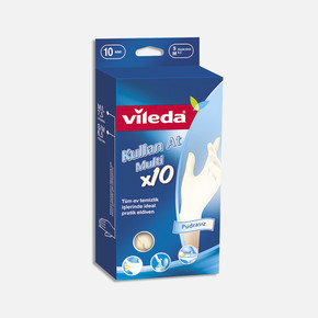 Vileda Kullan-at Eldiven 10lu Küçük/Orta Boy