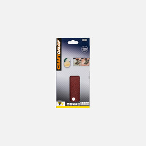 Craftomat Titreşimli Zımpara 93X186 mm Set (Cırtlı+Delikli)