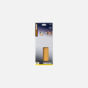 Craftomat Titreşimli Zımpara 115X280 mm K60 (Germe+Deliksiz)