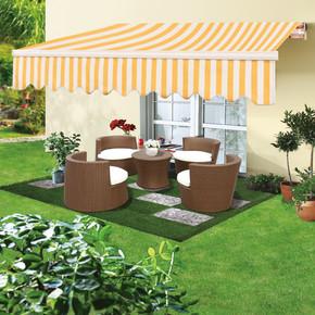 Polyester Tente 300x200 cm Sarı-Beyaz