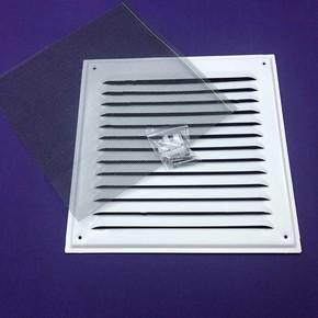 Kapak Aluminyum 250x250 mm  Beyaz