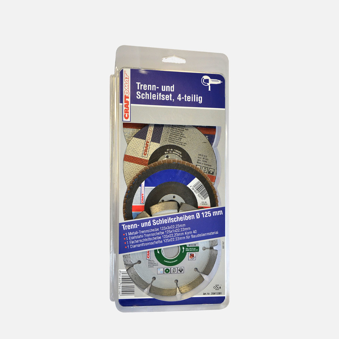 Kesme ve Zımpara Disk Seti  125Mm