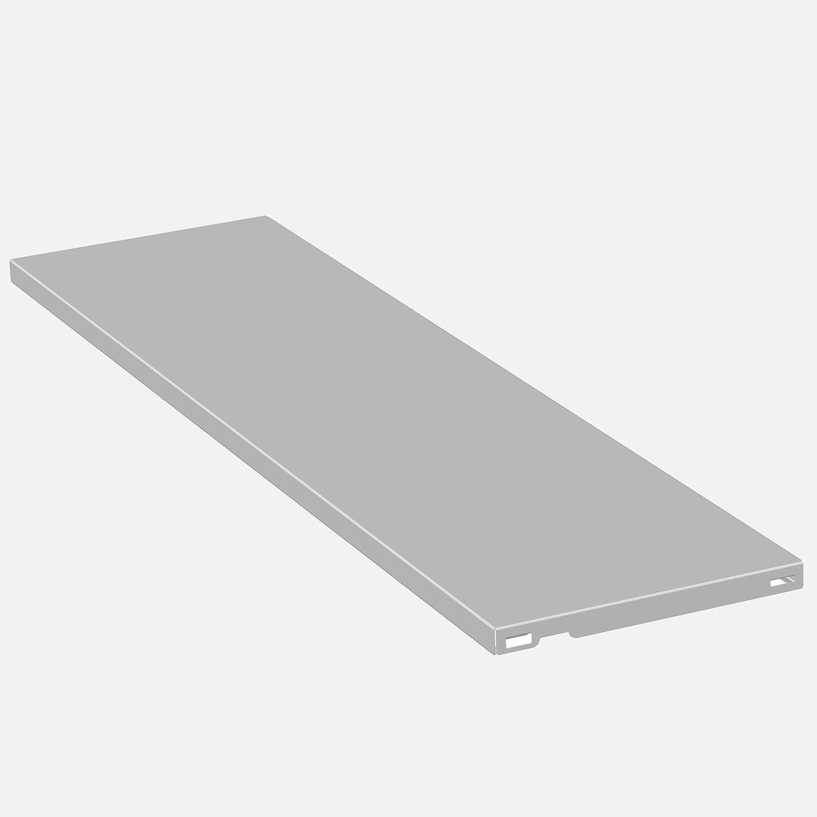 Çelik Raf 800 X 250 mm (Beyaz)