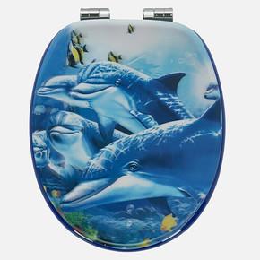 Sea Life Klozet Kapağı
