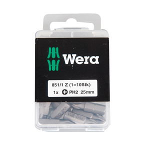 Wera 851/1 Z 10'lu Bits Uç Seti