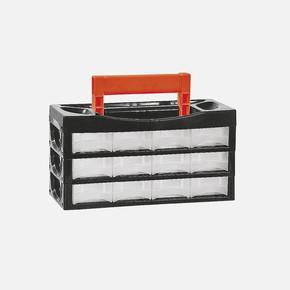 Sortus Çekmeceli Kutu Cd p 12, siyah