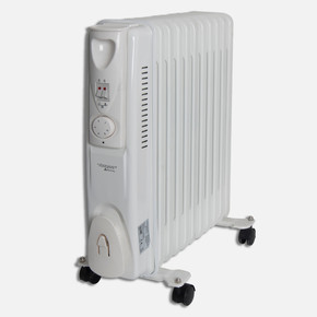 Voltomat 2300W 11 Dilim Yağlı Radyatör Beyaz