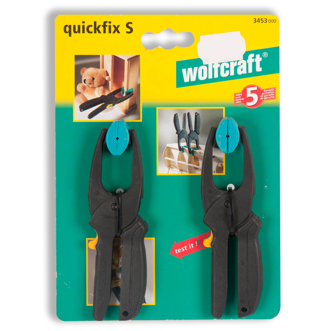 Quickfix S 30 - Mini Hızlı Sıkıştırma Penseleri 30 mm