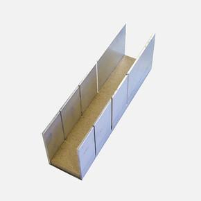 Aluminyum Kesme Şablonu 245x60x50 mm