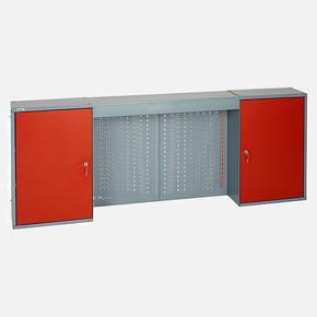 Asma Dolap - 160 cm 2 Kapı + Delikli Pano