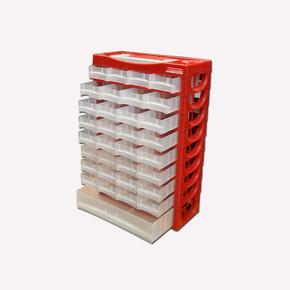 Lockweiler 29 Çekmeceli Plastik Taşınabilir Duvara Asılabilir Magazin