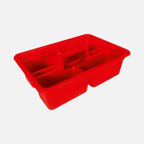 Aluminyum Saplı Alet Çantası, kırmızı