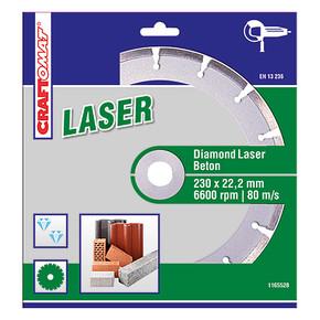 Elmas Kesici Disk 230Mm Yeşil  Beton Laser