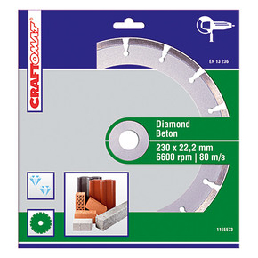 Elmas Kesici Disk 230Mm Yeşil  Beton Segme Nt