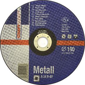 Kesici Disk 180 mm Metal Mavi