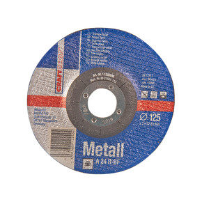 Craftomat 125 mm Metal Kesici Disk Mavi