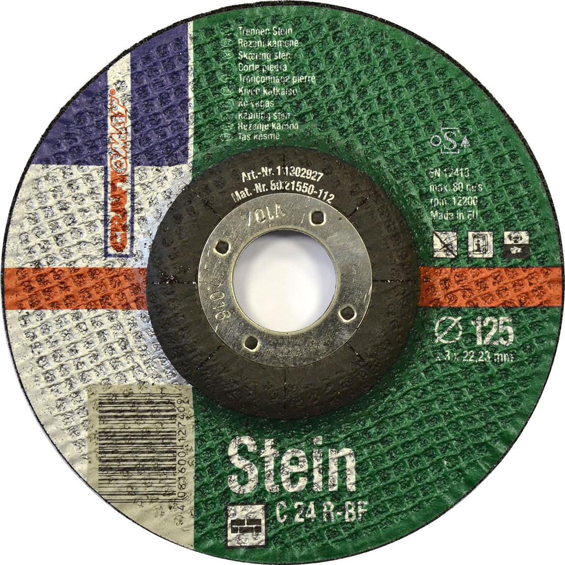 Kesici Disk 125Mm Taş Yeşil