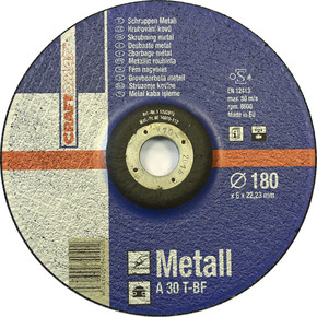 Taşlama Taşı 180X6Mm Metal  Mavi