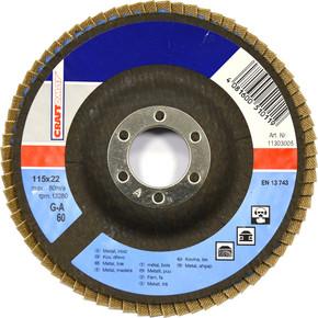 Taşlama Taşı K60 115 Mm Metal Açık Mavi