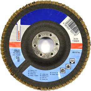 Taşlama Taşı K60 125 Mm Metal Açık Mavi
