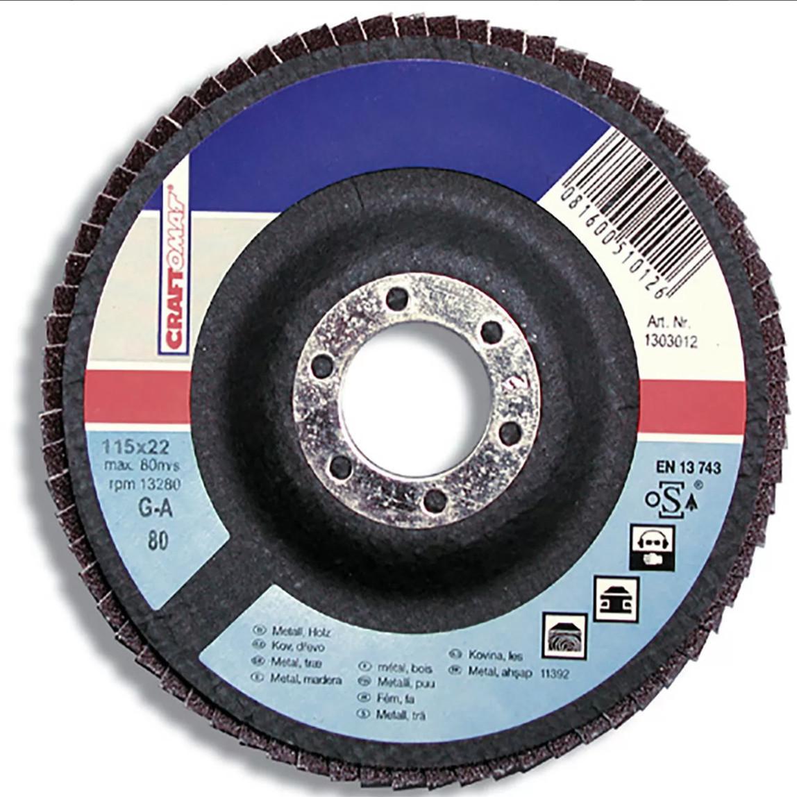 10 ' lu Kesici Disk 115Mm Metal Mavi