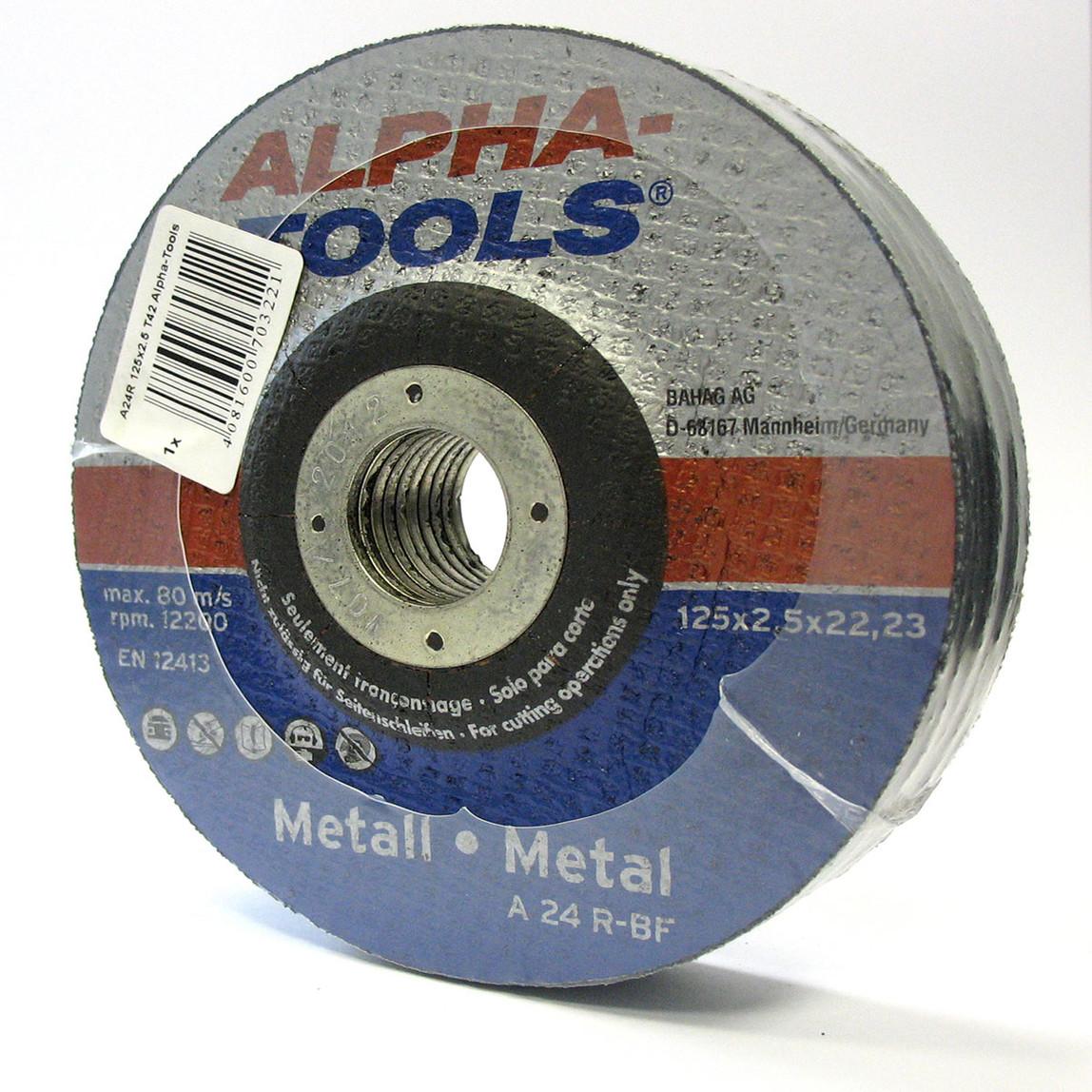 10 ' lu Kesici Disk 125Mm Metal Mavi