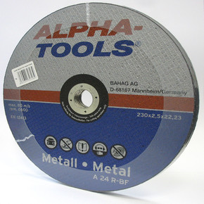 5 ' li Kesici Disk 230Mm Metal Mavi