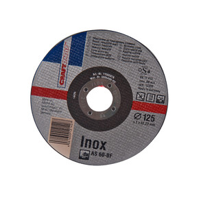 Craftomat 10'Lu 125 mm Powerpack Inox Kesme Diski