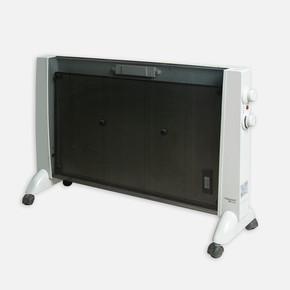 Voltomat 2000W Siyah Panel Termostatlı Radyatör