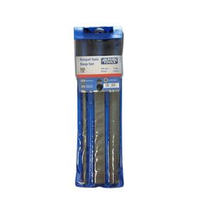 Alpha Tools 3 Parça 200 mm Törpü Seti