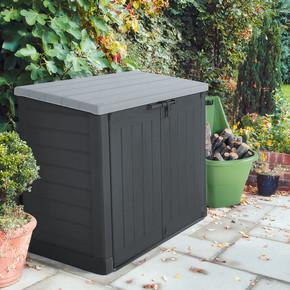 Bahçe Çöp Konteyner ve Depolama Sandığı