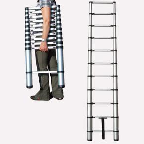 Stabilomat 11 Basamaklı Teleskopik Alüminyum Merdiven