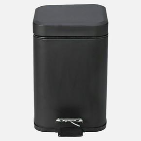 Quadra Pedallı Çöp Kutusu Siyah