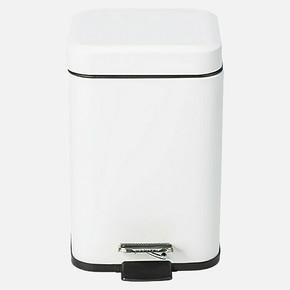 Quadra Pedallı Çöp Kutusu Beyaz