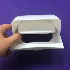 Dış Duvar Izgarası Korumalı Çap 125 mm Beyaz