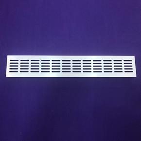 Metal Havalandırma Izgarası 480X80 mm Beyaz