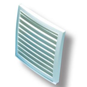 Dış Duvar Izgarası Çap 100 mm (Beyaz)
