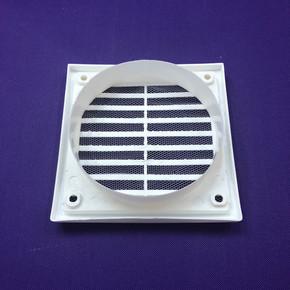 Dış Duvar Izgarası Çap 125 mm Beyaz