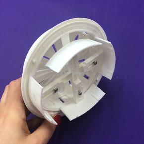 Değişken Çaplı İç Duvar Izgara Çap 100-150 mm