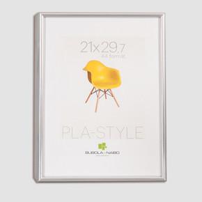 Pla 21x29,5 cm Resim Çerçevesi Gümüş