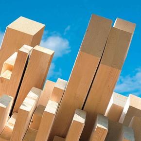 Silinmiş Kereste 5,4x5,4x300 cm