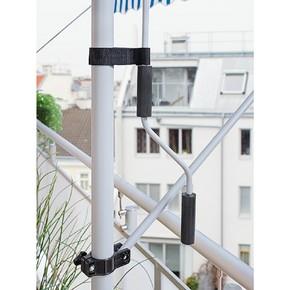 Teleskopik Tente Mavi-Beyaz 250x130 cm